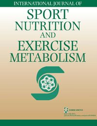 Cover International Journal of Sport Nutrition and Exercise Metabolism